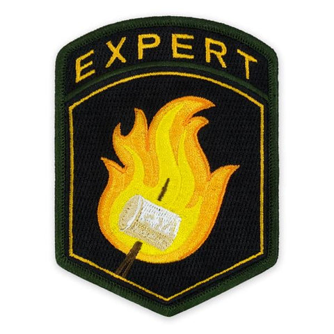PDW Expert Camper Flash Morale Patch - Tactical Outfitters