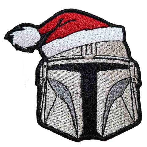 Christmas Mando Morale Patch - Tactical Outfitters