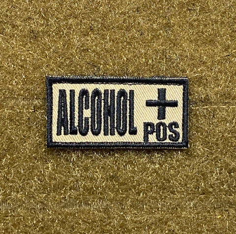 Alcohol + Morale Patch - Tactical Outfitters