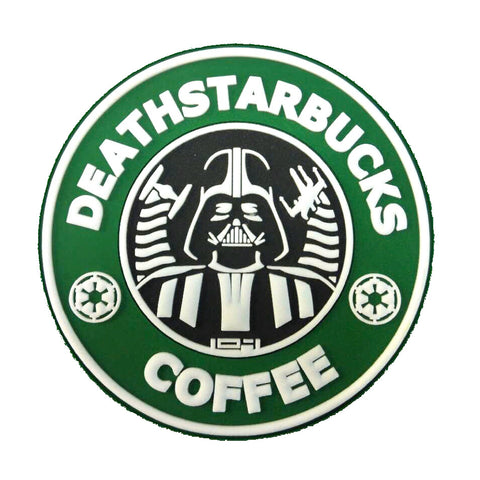 Deathstarbucks Coffee PVC Morale Patch - Tactical Outfitters