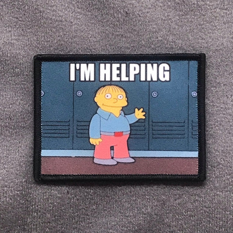 I'm Helping - Ralph - Morale Patch - Tactical Outfitters