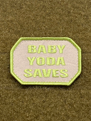 Baby Yoda Saves - Mojo Tactical Morale Patch - Tactical Outfitters