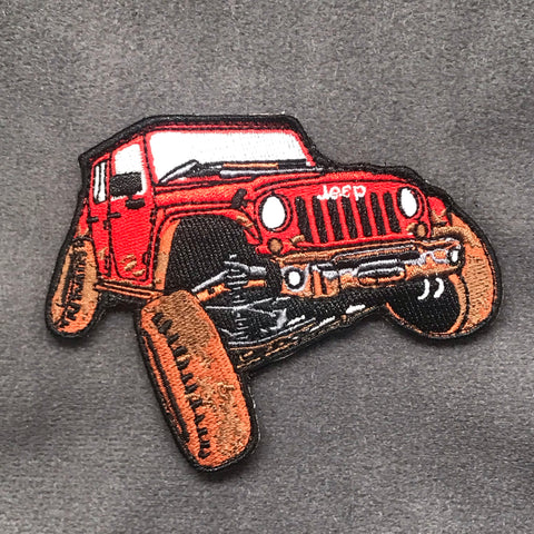 FLEXING JEEP MORALE PATCH - Tactical Outfitters