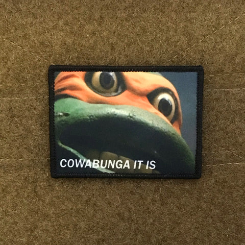 Cowabunga Morale Patch - Tactical Outfitters