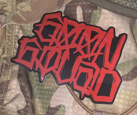 Goon Squad Black/Red Sticker - Tactical Outfitters