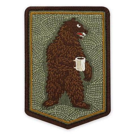 PDW Morning Bear Morale Patch - Tactical Outfitters