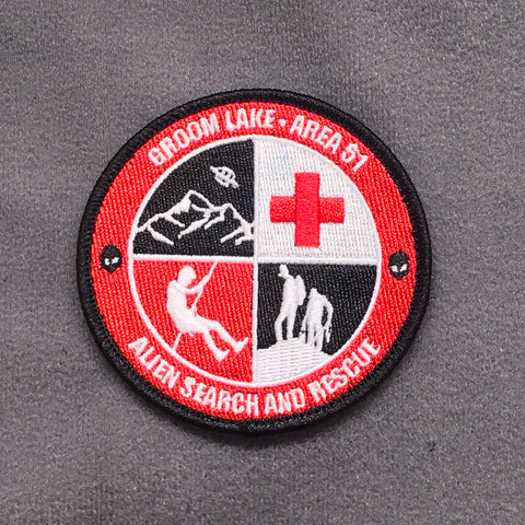 Groom Lake Area 51 - Alien Search And Rescue Morale Patch - Tactical Outfitters
