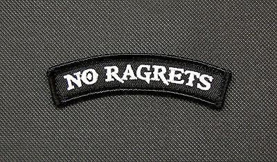 NO RAGRETS TAB MORALE PATCH - Tactical Outfitters