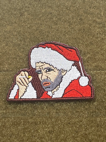 Bad Santa Morale Patch - Tactical Outfitters