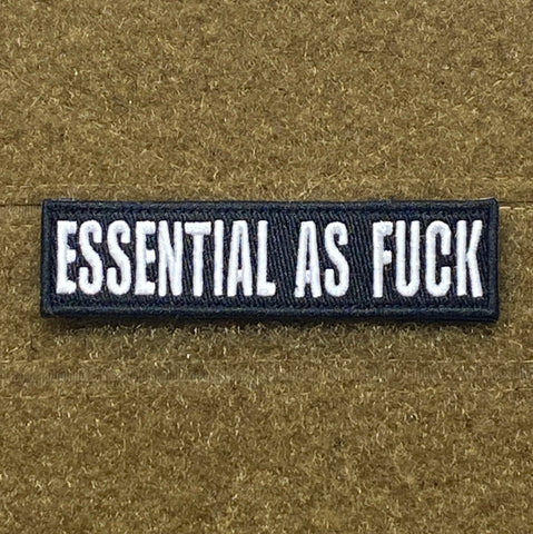 Essential As Fuck Morale Patch - Tactical Outfitters