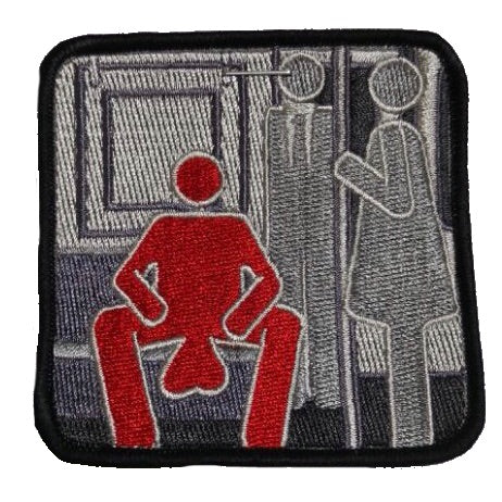 Manspreading Morale Patch - Tactical Outfitters