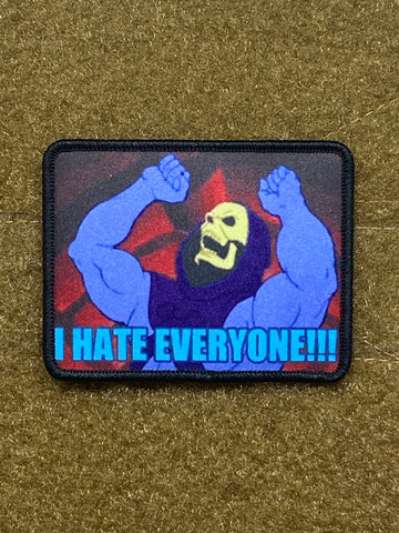 I Hate Everyone! - Skeletor - Morale Patch - Tactical Outfitters