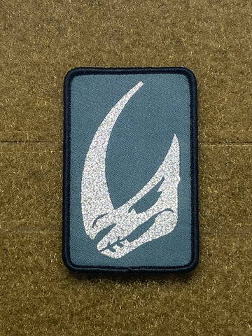 Mudhorn - Clan of Two - Mandalorian Woven Morale Patch - Tactical Outfitters