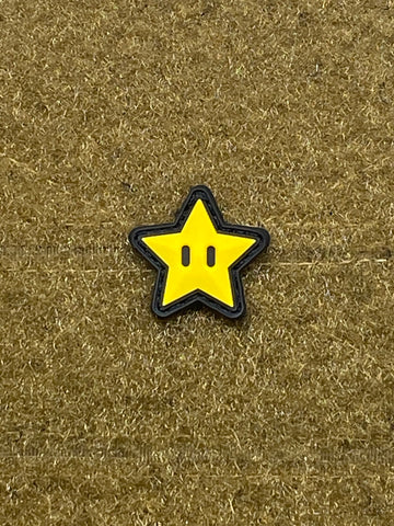 Invincibility Star PVC Cat Eye Morale Patch - Tactical Outfitters