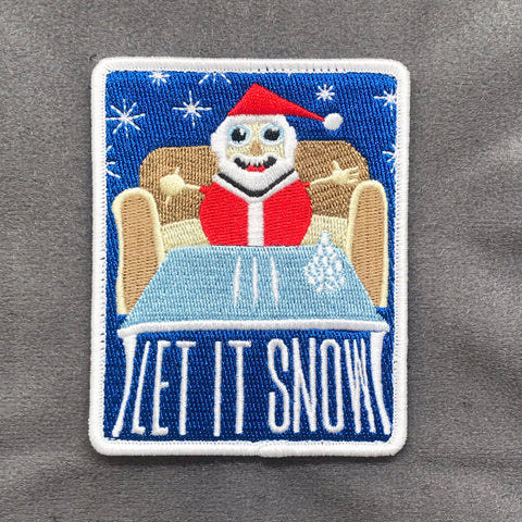 Let It Snow Morale Patch - Tactical Outfitters