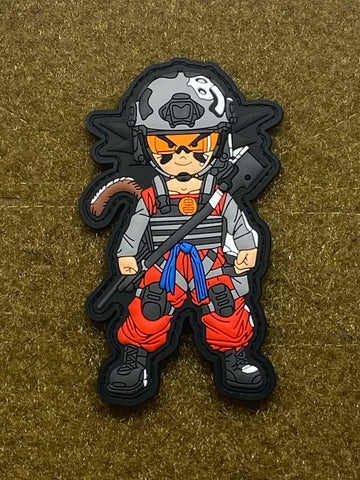 SON GOKU PVC MORALE PATCH - Tactical Outfitters