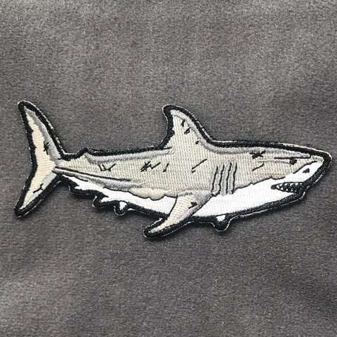 Adrift Venture Great White Shark Morale Patch - Tactical Outfitters