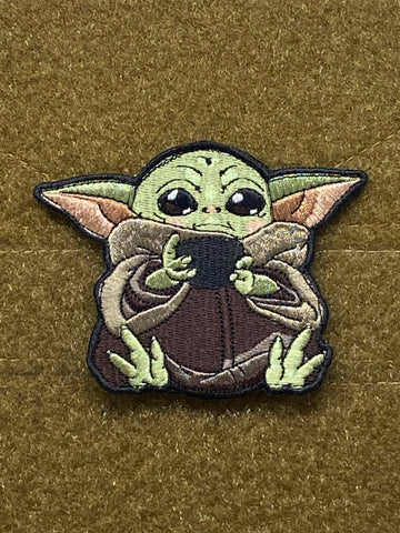 The Child - Baby Yoda V4 Morale Patch - Tactical Outfitters