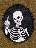 Fuck Death GITD Morale Patch - Tactical Outfitters