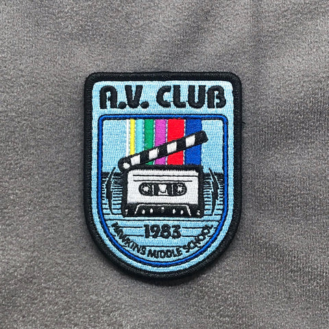 HAWKINS AV CLUB MORALE PATCH - Tactical Outfitters