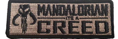 Mandalorian Creed Morale Patch - Tactical Outfitters