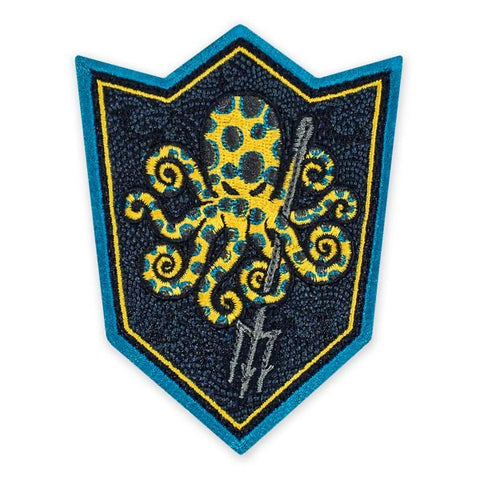 PDW SPD Kraken UET Blue Ringed Morale Patch - Tactical Outfitters