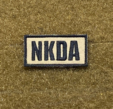 NKDA - No Known Drug Allergies Morale Patch - Tactical Outfitters