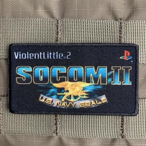 """SOCOM II"" PLAYSTATION MORALE PATCH - Tactical Outfitters"