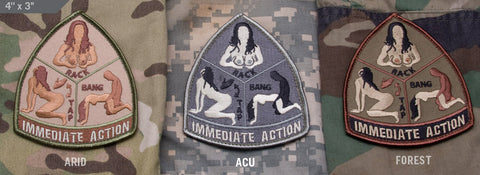 IMMEDIATE ACTION MORALE PATCH - Tactical Outfitters