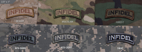 Infidel Tab Morale Patch - Tactical Outfitters