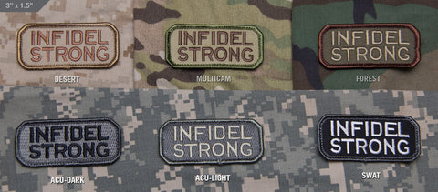 Infidel Strong Morale Patch - Tactical Outfitters