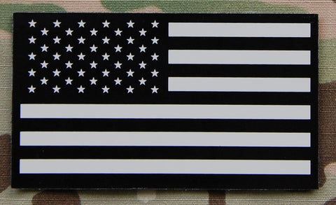 US  FlagTan & Black Infrared Flag Patch - Tactical Outfitters