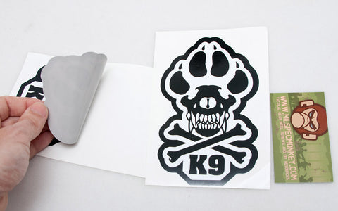 K9 Decal - Tactical Outfitters
