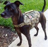 KILONINER COMPACT K9 TACTICAL MOLLE DOG VEST X-SMALL - Tactical Outfitters