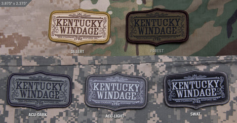 KENTUCKY WINDAGE MORALE PATCH - Tactical Outfitters