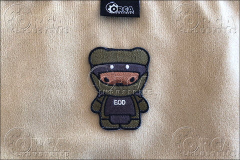 KUMA KORPS - EOD - MORALE PATCH - Tactical Outfitters