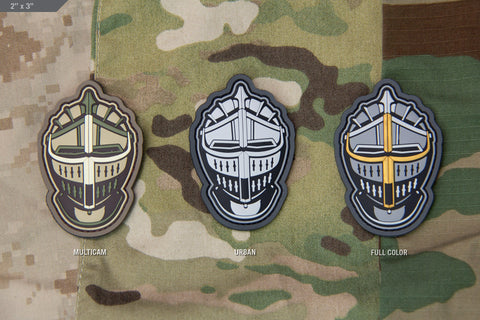 KNIGHT HEAD MORALE PATCH - Tactical Outfitters