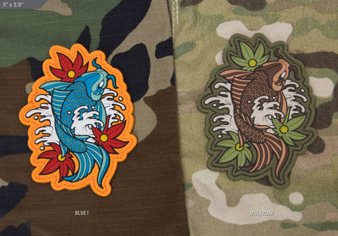 KOI TATTOO PVC MORALE PATCH - Tactical Outfitters