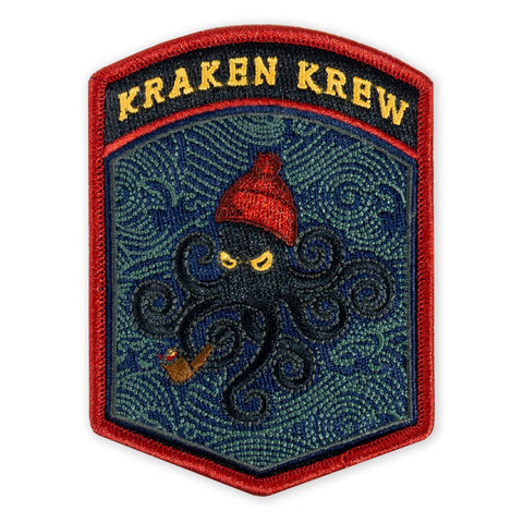 SPD Kraken Krew Flash Morale Patch - Tactical Outfitters