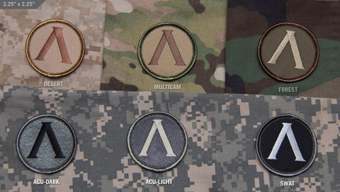 LAMBDA SHIELD MORALE PATCH - Tactical Outfitters