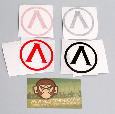LAMBDA SHIELD STICKER - Tactical Outfitters