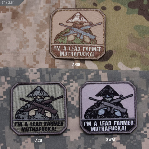 LEAD FARMER MORALE PATCH - Tactical Outfitters