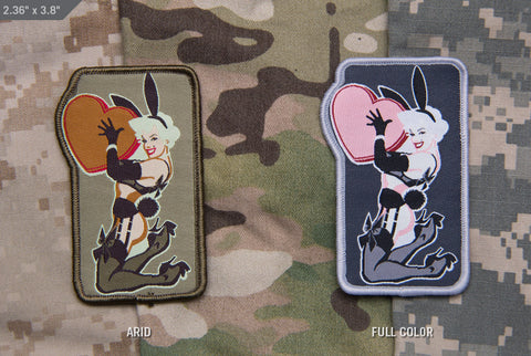 Love Bunny Morale Patch - Tactical Outfitters