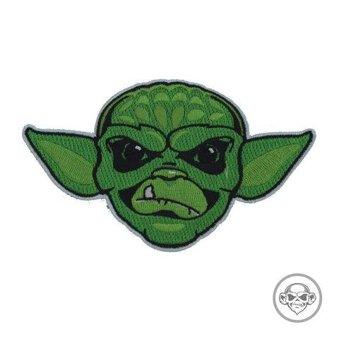 GRUMPY MANDO YODA MONKEY MORALE PATCH - Tactical Outfitters