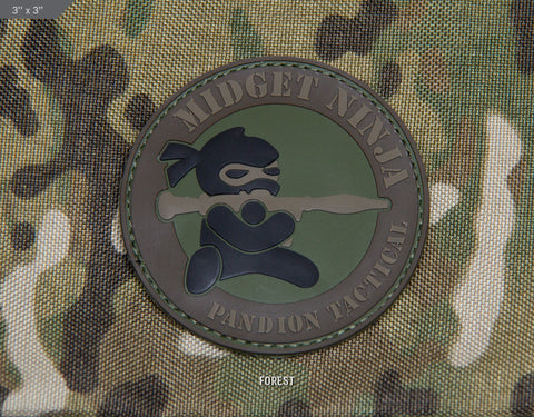 MIDGET NINJA RPG PVC MORALE PATCH - Tactical Outfitters