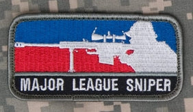 Major League Sniper Patch - Tactical Outfitters