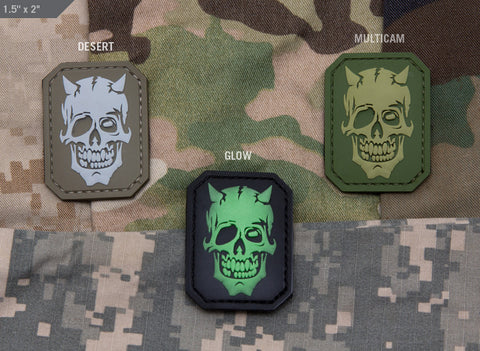 MM Devil Skull Morale Patch - Tactical Outfitters