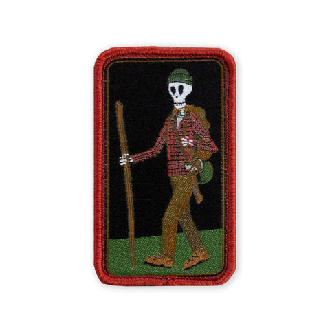 PDW Memento Mori Woodsman v2 Morale Patch - Tactical Outfitters