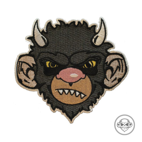 GRUMPY AND WILD MOISHE MONKEY MORALE PATCH - Tactical Outfitters