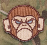 Monkey Head Logo Morale Patch - Tactical Outfitters
